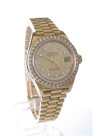 Rolex Lady's President Diamond Wristwatch18K