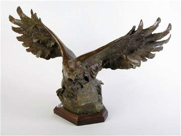 "Sandy Scott Bronze ""Presidential Eagle"""