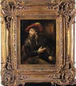 Decorator Oil Painting, Gentleman