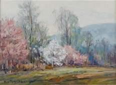 """Fred W Rigley 12x16 O/B """"Springtime"""""""