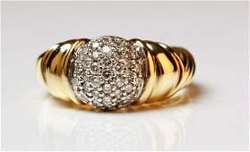 David Yurman 18K, Diamond Ring