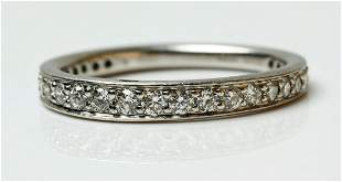 Ritani Platinum Diamond Endless Love Eternity Band