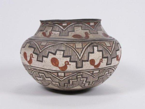 95: Vintage Southwest Native American Pottery Bowl
