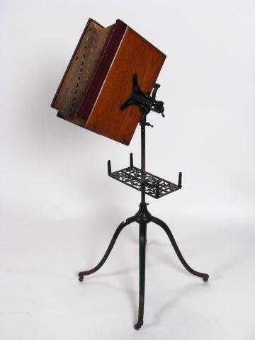 375: Antique Mechanical Dictionary Stand