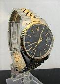 Rolex 18K, Stainless Gent's Datejust Wrist Watch