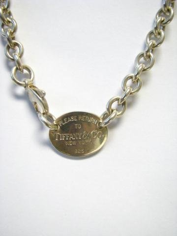 505: Tiffany & Co. Sterling Necklace