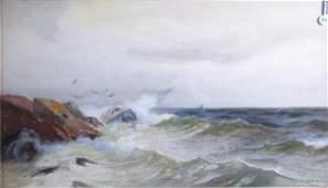 809 FKM Rehn 16x28 WC Crashing Waves