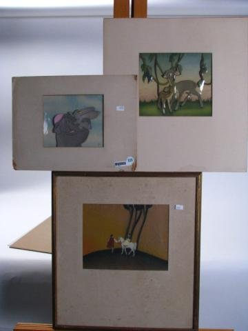 839: Group of Three Disney Animation Cels