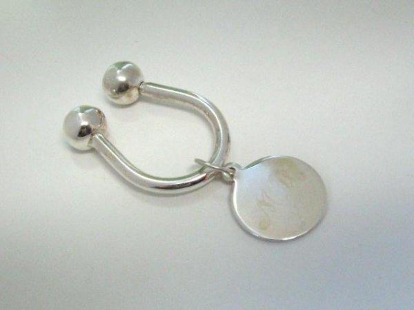 503: Tiffany & Co. Sterling Key Ring