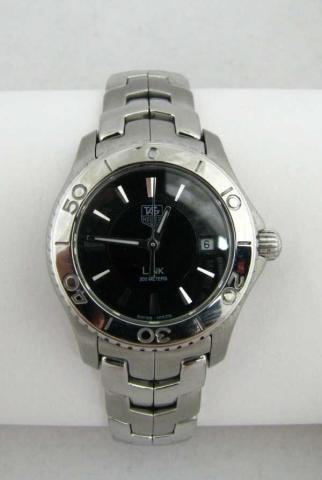 521: Lady's Tag Heuer Stainless Steel Link Watch