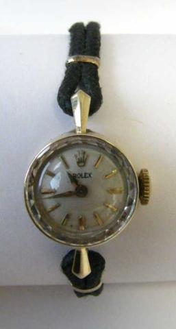522: Vintage Lady's Rolex, 14K Gold