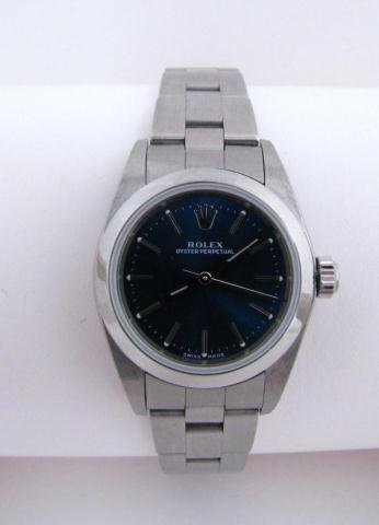 523: Lady's Rolex Oyster Perpetual, Stainless