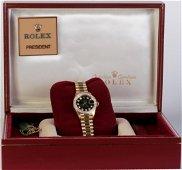Lady's Rolex Diamond President Wrist Watch