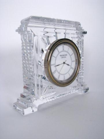 203: Waterford Crystal Desk Clock
