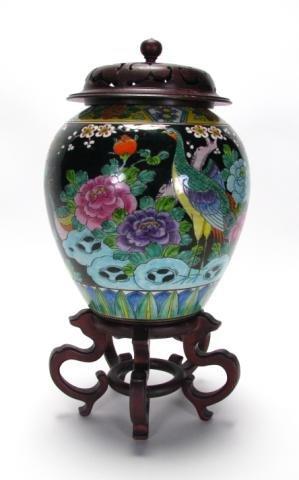215: Nippon Japanese Decorated Urn