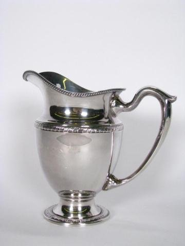 248: Sterling Silver Water Pitcher