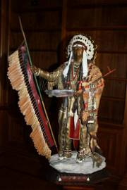 """Don Baker Sculpture, """"Southern Cheyenne Chief"""""""
