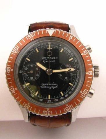 5: Men's Vintage Wittnauer Chronograph Watch