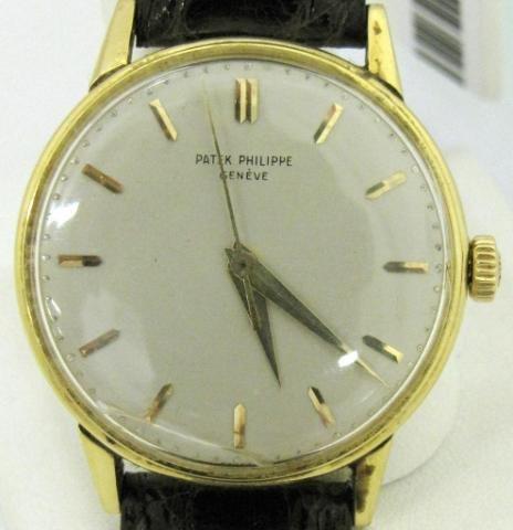 6: Gent's 18K Vintage Patek Philippe Wristwatch