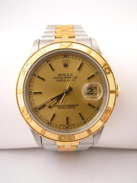 8: Gentleman's 18K/Stainless Rolex Datejust