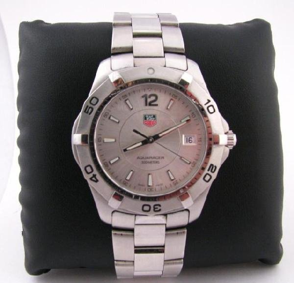 12: Men's Tag Heuer AquaRacer, 300M Stainless Watch