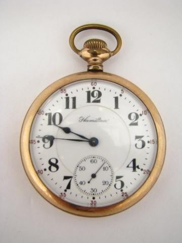 15: Hamilton Pocket Watch
