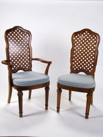528: Set of Six Thomasville Dining Chairs