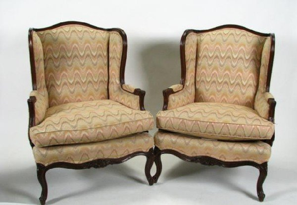 605: Pair of Frederick Edward Arm Chairs