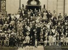 617 Four Antique Group Photo Prints Indianapolis