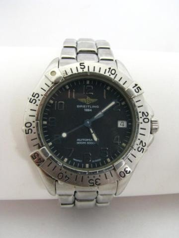 151: Gentleman's Breitling Colt Stainless Watch
