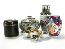 298: Group of Oriental Porcelain and Cloisonne