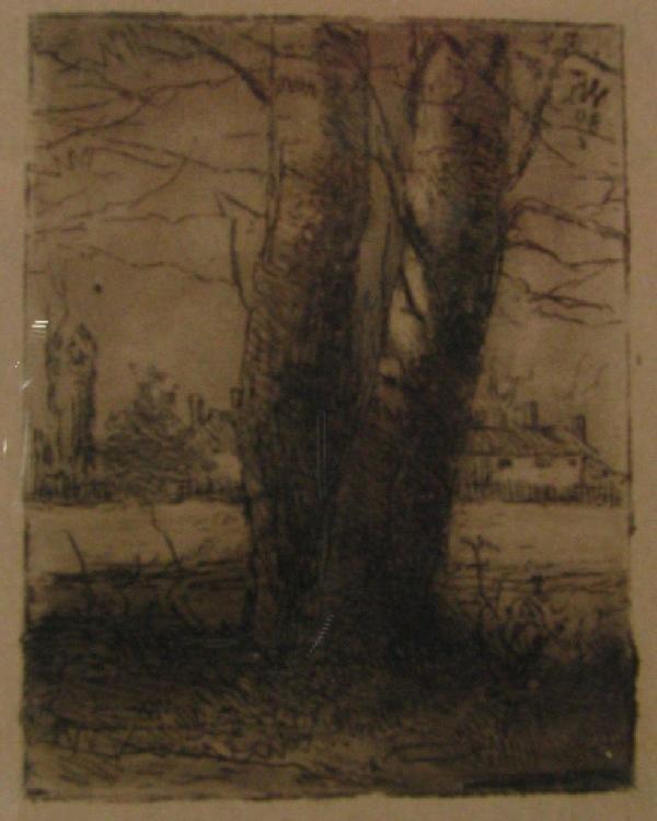 207: Wm Forsyth Etching, first, 1880