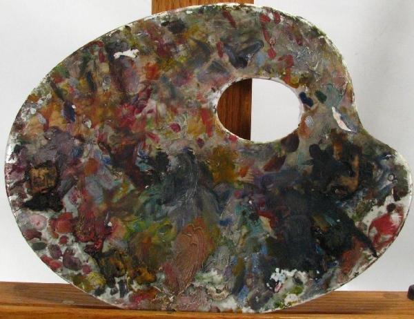 208A: William Forsyth Artist's Palette
