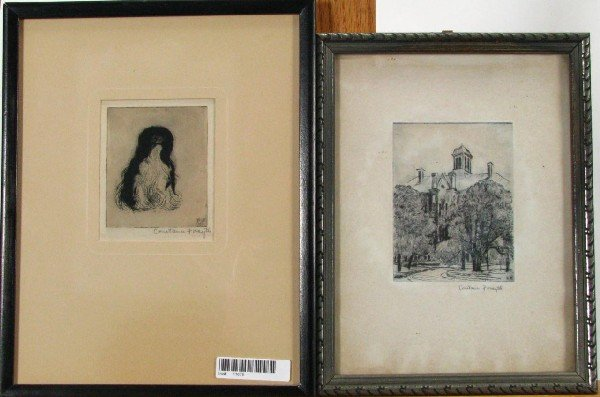 210: Constance Forsyth Two Engravings