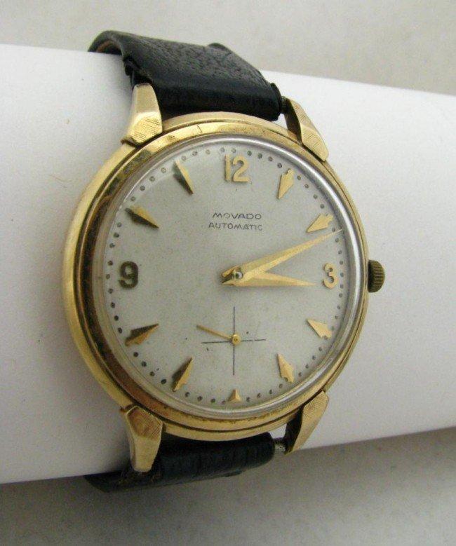 1: Gent's 14K Gold Movado Vintage Watch