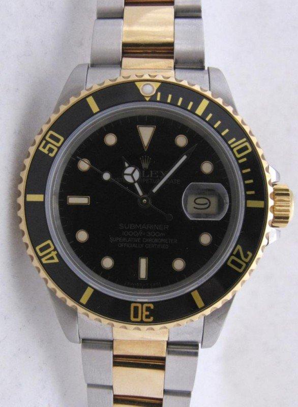 5: 18K, Stainless Rolex Submariner Watch