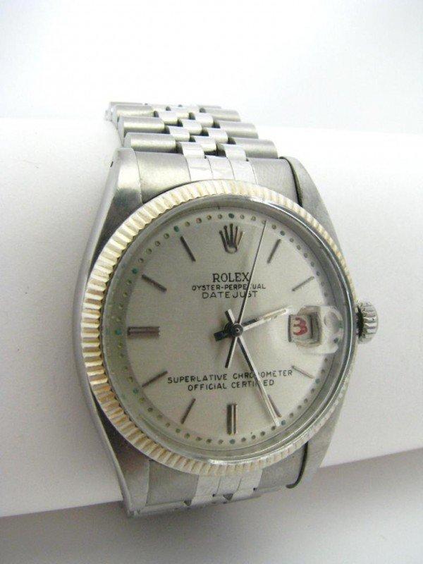 6: Men's Vintage 14K Rolex Datejust