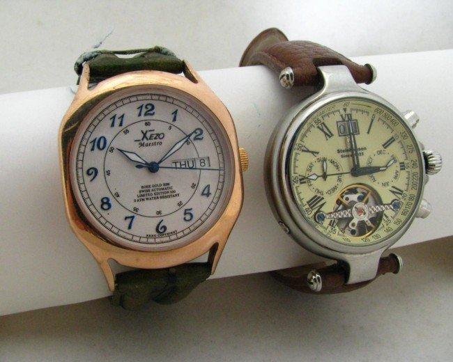 8: Gent's Steinhausen and XEZO Watches