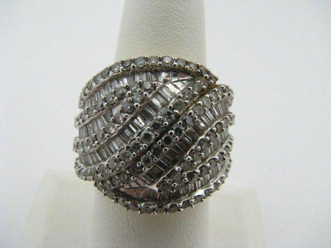 12: 14K Yellow Gold Diamond Ring