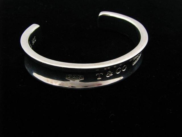 419: Tiffany & Co. 1837 Sterling Silver Cuff