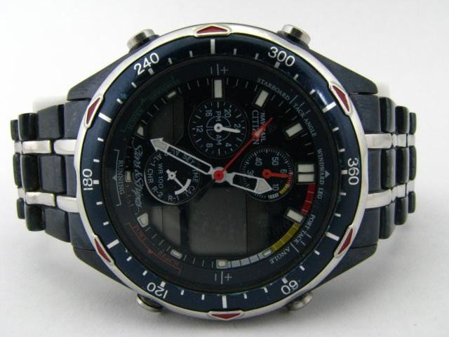 529: Mens Citizen Stars and Stripes Edition Watch, Rare