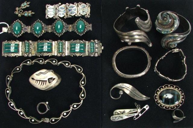 411: Vintage Silver Jewelry
