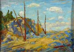 579: VJ Cariani 9x13 O/B Landscape