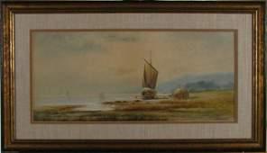674 Albert Strange 9x20 WC Dock Sailing Vessels