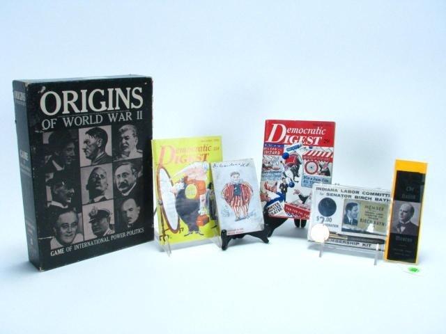 553: Group of Vintage Political Memorabilia
