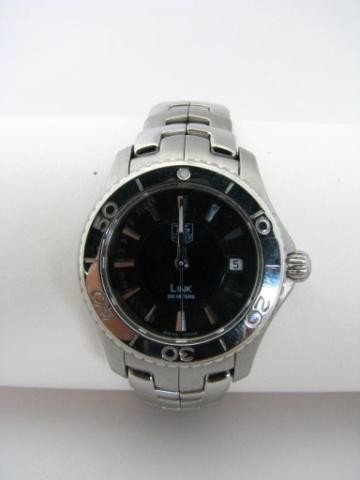 669: Lady's Tag Heuer Stainless Wristwatch
