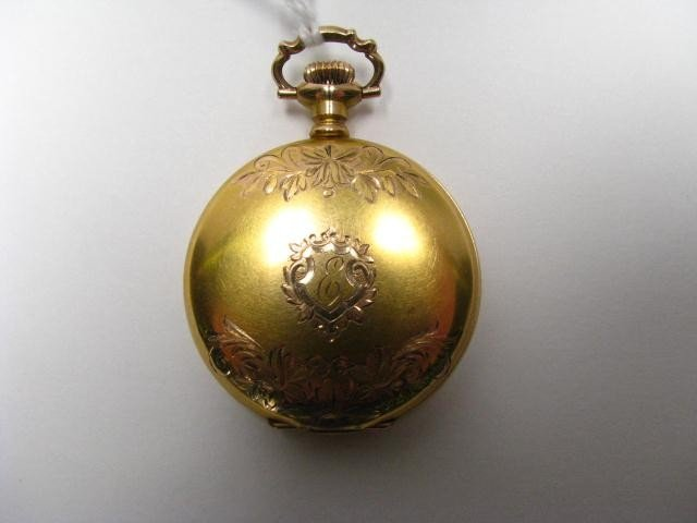 670A: Illinois Lady's GF Hunter Case Pocket Watch