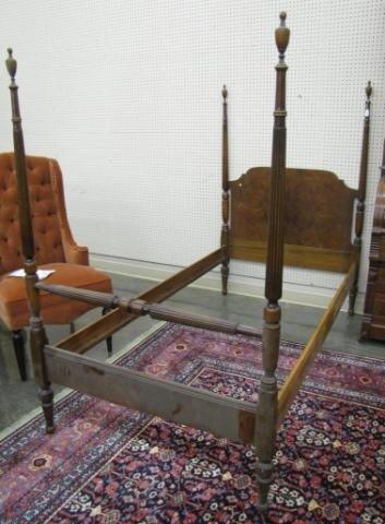 877: Pair of Vintage Huntley Simmons Twin Beds - 2