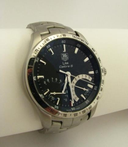 402: Tag Heuer Gents Link Calibre 'S' Wristwatch