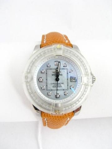 1D: Breitling, Cockpit Lady, Stainless Wristwatch